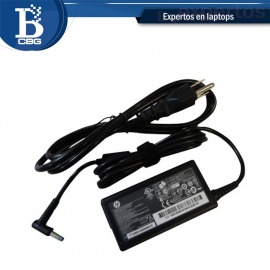 cargador laptop hp punta azul
