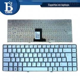Teclado Sony Vpc-eb blanco español
