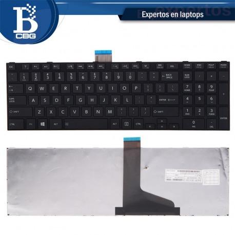 Teclado Toshiba C855 Inglés