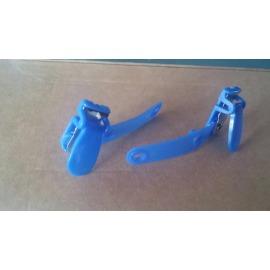 Porta Gafetes tipo Lagarto Azul